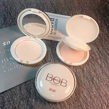 BOB light sensitive and constant powder cake, oil control, makeup, durable concealer, moisturizing powder, powder, honey powder, cheap Chinese goods.