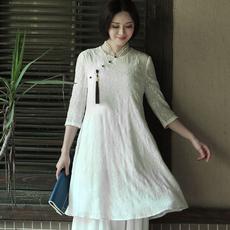 Блузка в китайском национальном стиле The