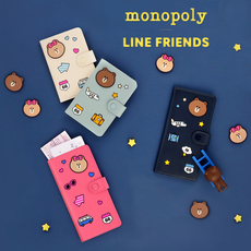 сумка для документов Monopoly LINE FRIENDS