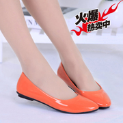 Fall flat shoes women shoes flat shoes with pointed a small black work shoes, work shoes student shoes Korean version