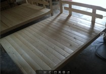 New special offer solid wood double bed cot