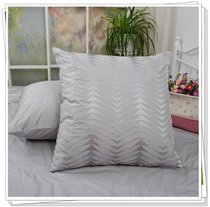 Foreign Trade cotton bed combed cotton twill embroidered satin cushion hug pillowcase 65*65CM such as size