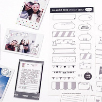 ����2NUL�ɐ��������N��Polaroid Deco Sticker ver.3 6����