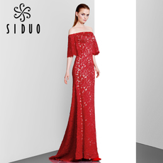 Evening dress Think duo 80768