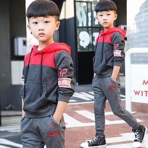 男童秋装套装2017新款儿童中大童春秋韩版运动童装卫衣两件套潮衣童装