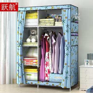 折叠衣柜单人组装_单人布衣柜小号折叠